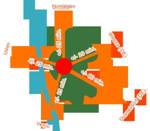 Papenheuvel Routekaart